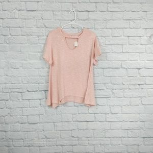 Juicy Couture | Pink Short Sleeve Sharkbite & keyh